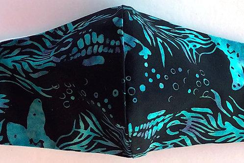 Batik-Black & Blu