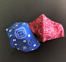 Kerchief Red or Blue Child or adult size