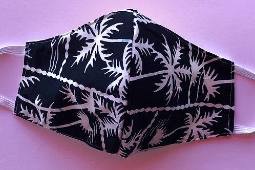 Batik Palms B&W