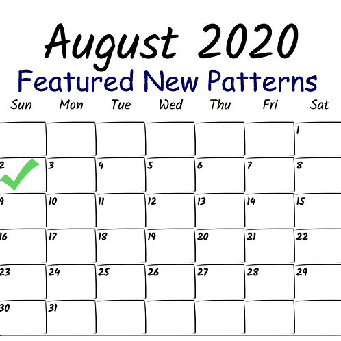 Featured new Patterns August 2nd 2020