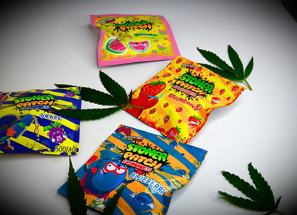 STONER PATCH DUMMIES (500mgTHC) 5 flavours