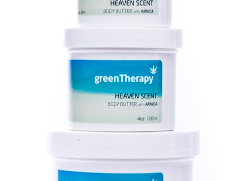 Green Therapy Goodbye Body Butter (2oz & 4oz)