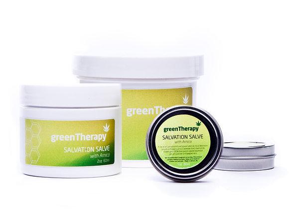 Green Therapy Salvation Salve (2oz & 4oz Sizes)