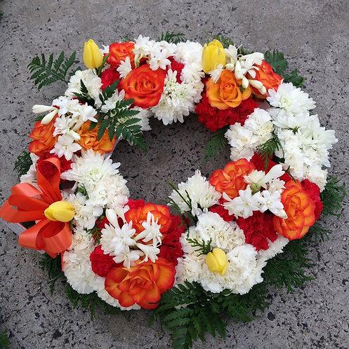 Wreath (bright colours)