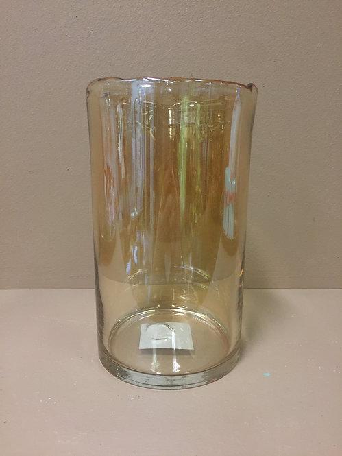 Gold-tinted vase