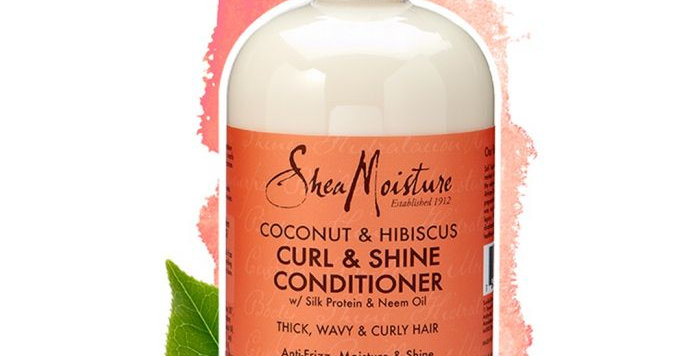 SheaMoisture Hair Coconut Hibiscus Conditioner 12 oz