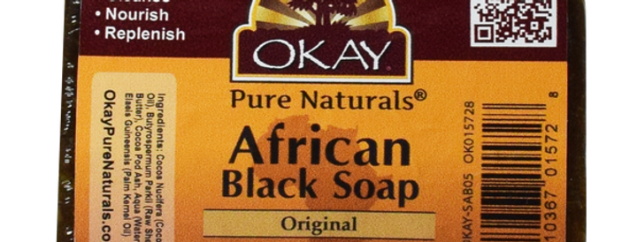 Okay African Black Original Soap 5.5oz