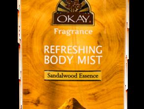 Sandalwood Essence Refreshing Body Mist 8oz
