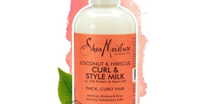 SheaMoisture Hair Coconut Hibiscus Hair Milk 8 oz