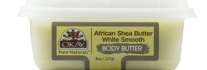 Shea Butter White Smooth Deep Moisturizing 8oz