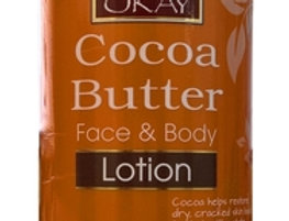 Okay Cocoa Butter Hand & Body Lotion 16oz / 473ml
