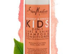SheaMoisture Hair Kids Coco & Hibiscus 2 in 1 Shampoo 8 oz