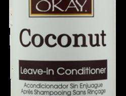 Okay Coconut Deep Moisturizing Leave In Conditioner 8oz