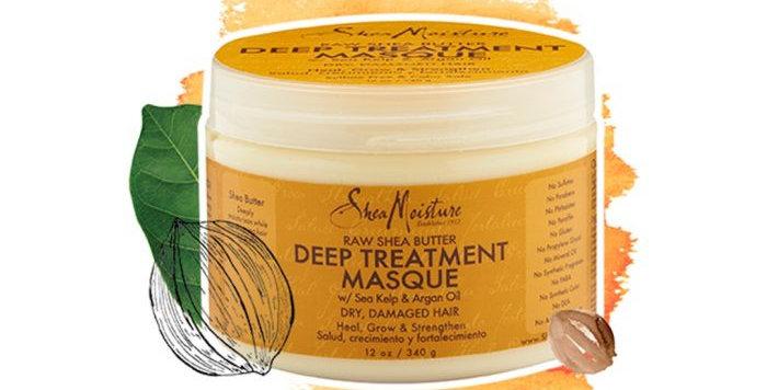 SheaMoisture Hair Raw Shea Deep Treatment Masque 12 oz