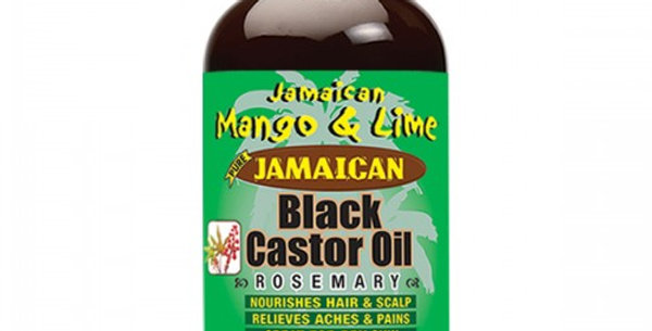Jamaican Mango & Lime® Jamaican Black Castor Oil – Rosemary 118ml