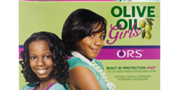 ORS Olive oil girls built in protection No Lye cond relaxer system