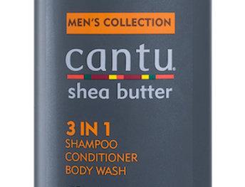 Cantu Men's 3 In 1, Shampoo Conditioner & Body Wash, 13.5oz