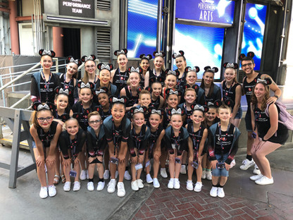 2019 Disneyland Performance Team ready to hit the stage!