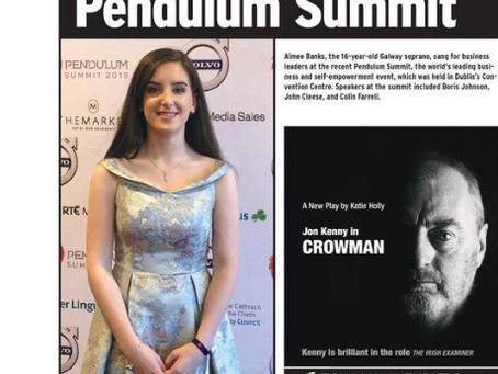 Aimee Banks at the Pendulum Summit