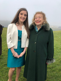 Pricess Elettra Marconi at the 100th Anniversary of the First voice transmission from East to West, Ballybunion, Co Kerry