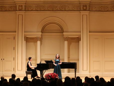 Teenage soprano Aimee is hitting the highnotes