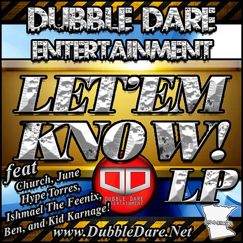 Let'em Know! LP, CD