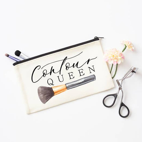 Small Contour Cosmetic Bag