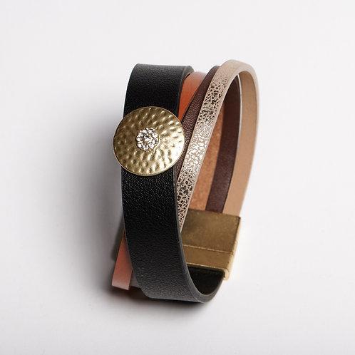 Black Multi Colored Bracelet