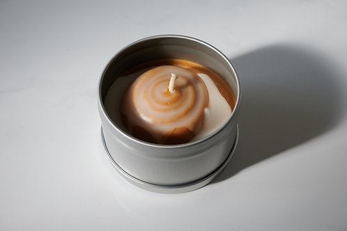 Cinnamon Bun Candle Tin
