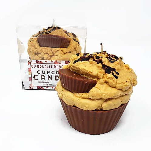 Reese Peanut Butter Cupcake Candle