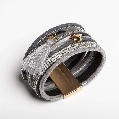 Silver  Layered Bracelet