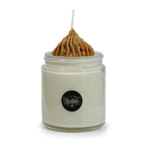 Bella Vanilla Soy Dessert Jar Candle