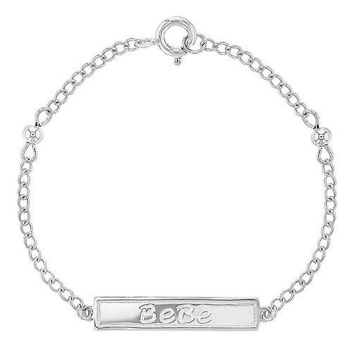 Sterling Silver BeBe Bracelet