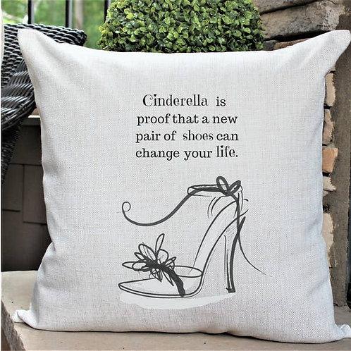 Cinderella's Shoe Pillow