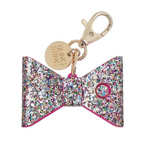 Confetti Glitter Bow Personal Alarm
