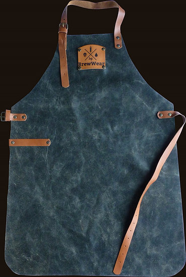 Leather brewers apron, Barrel Aged Black