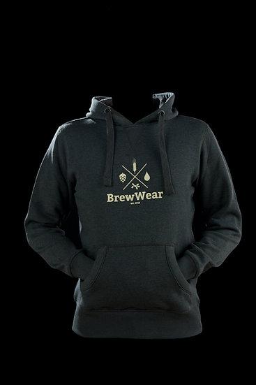 BrewWear Hoodie, Stainless Steel Grey
