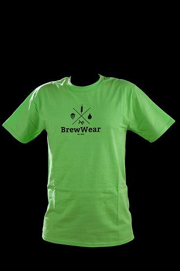 T-shirt men, round neck, Fresh Hoppy Green