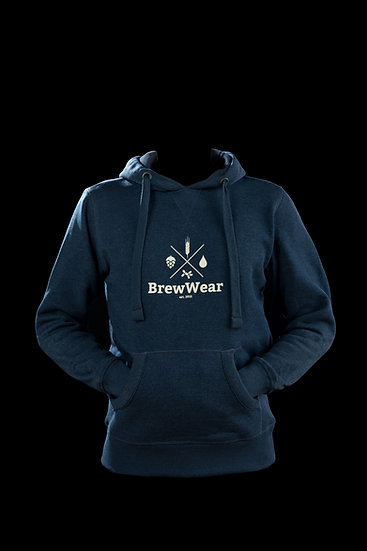 BrewWear Hoodie, Dark Watery Blue