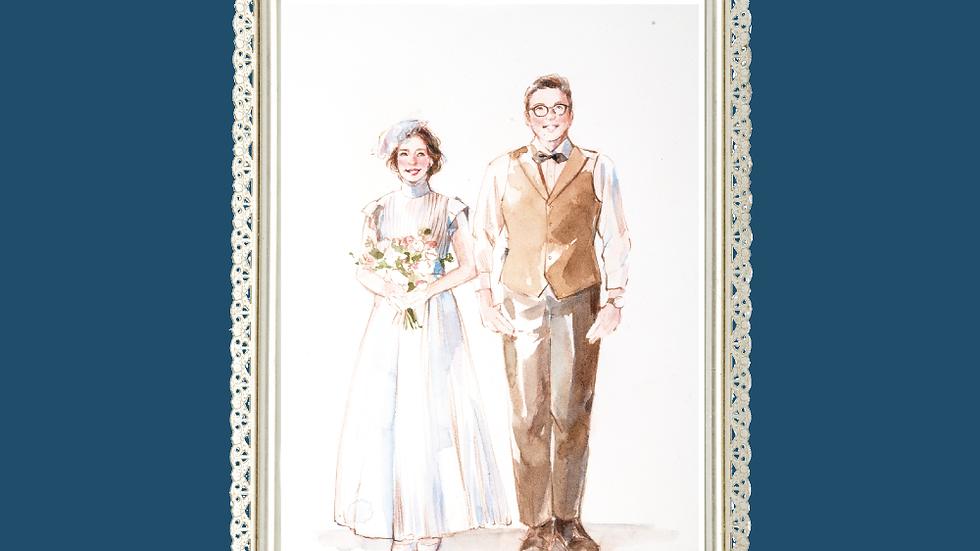SweetCoreillustration-訂製肖像畫