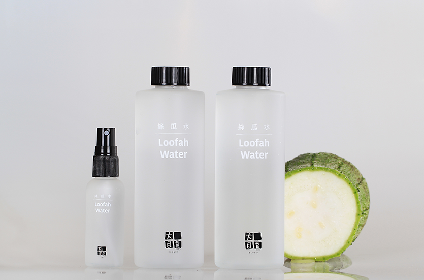 Loofah Water Toner Package大目農絲瓜水組