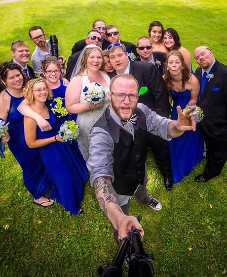 Dole Wedding selfie