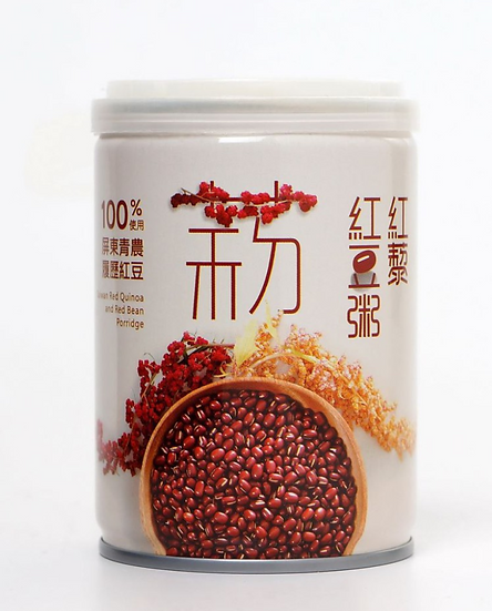 Red Quinoa and Red Bean Porridge(6 Cans)屏農紅藜紅豆粥(六入)