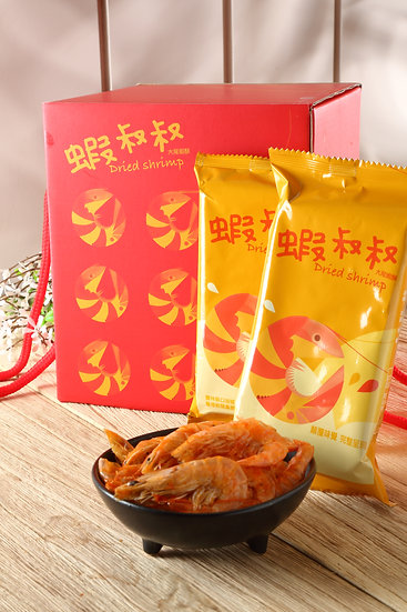 Dried Shrimp蝦叔叔大尾蝦酥