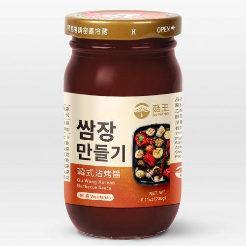 菇王韓式沾烤醬 Gu Wang Korean BBQ Sauce