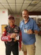 20190710 Club Meeting with Tony Bigot an
