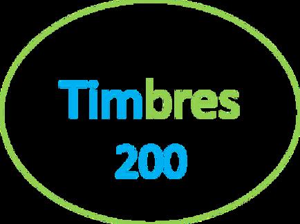 Paquete de  200 Timbres
