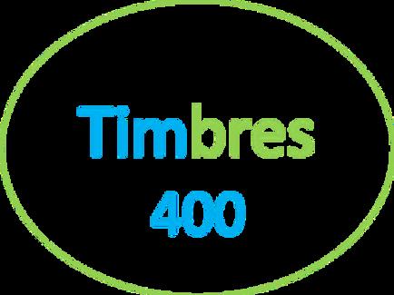 PAQUETE DE 400 TIMBRES