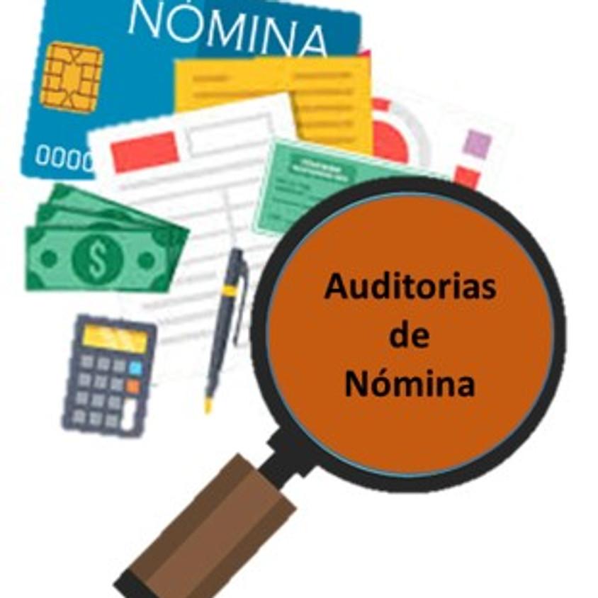 Taller práctico de auditorías de nómina  2017-2019 de acuerdo a las revisiones y cartas invitación del SAT.
