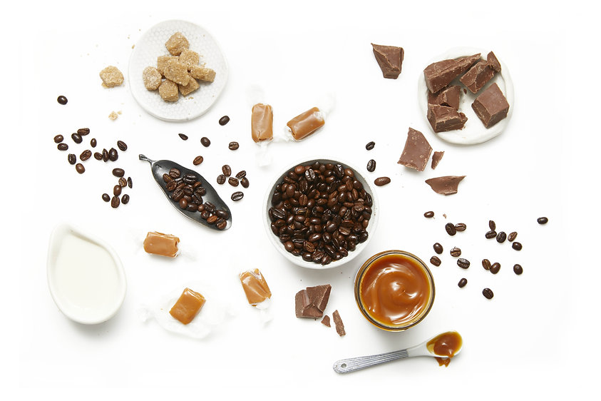 Iced coffee ingredient setting